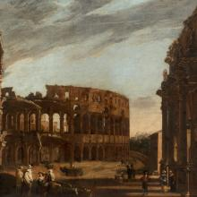 Colosseum and Arch of Constantine  c. 1650