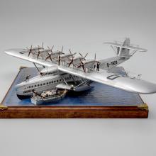 Dornier Do X monoplane flying boat airliner model aircraft  1985