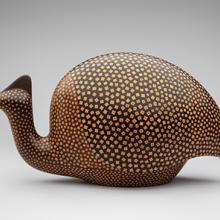 Guinea Fowl; Emile Norman