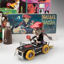 Dracula toys and memorabilia