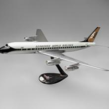Seaboard World Airlines Douglas DC-8 model  1960s