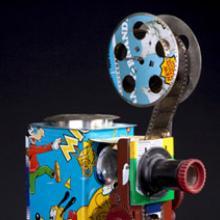 Film projector c. 1983