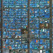 Industrial District, Ansan, South Korea  2015