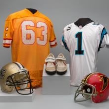 A selection of material representing the NFC South Division of the National Football League