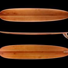 """Dudley """"Hap"""" Jacobs Longboard Surfboard c. 2015"""