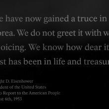 Korean War Memorial, detail  2017