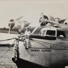 Pan American Airways Martin M-130 Hawaii Clipper in Honolulu