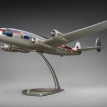 Qantas Empire Airways Lockheed L749 Constellation model aircraft c. 1950