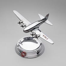TWA (Transcontinental & Western Air) Boeing 307 Stratoliner Airtray ashtray c. 1939
