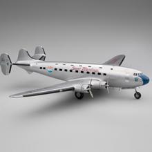 United Air Lines Douglas DC-4E experimental prototype monoplane airliner model aircraft  1985