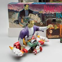 Frankenstein toys and memorabilia