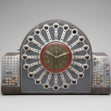 Flight dispatch clock  c. 1940