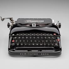Remington Rand Streamliner typewriter  c. 1940
