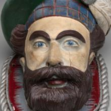 Figurehead fragment from the Roderick Dhu