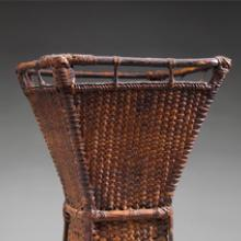 Carrying basket for sweet potatoes (balyag) 20th century