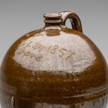 Jug  1857, Jug  c. 1880s, Face jug  c. 1862