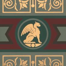 Neo-Classical Renaissance dado 2021 Bradbury & Bradbury Art Wallpapers