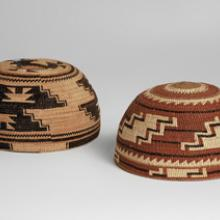 Basketry caps  c. 1890s–1920s