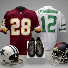 A selection of material representing the NFC East Division of the National Football League