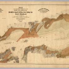 Salt Marsh, Tide and Submerged Lands In and Adjacent to the Bays of San Francisco and San Pablo 1874