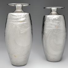 Rod Kelly, Carp vases  1987