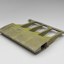 """Hiller XH-44 """"Hiller-copter"""" helicopter rotor blade section 1940s"""