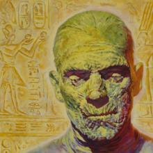 Mummy painting