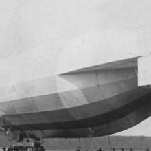 The Schwaben is released for departure 1911