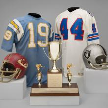 A selection of material representing the AFC West Division of the National Football League
