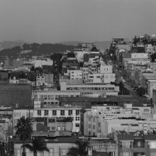 Telegraph Hill from S. F. Art Institute #30  2001