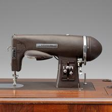 Sears Kenmore Imperial Model 117.59 rotary sewing machine and cabinet  c. 1942