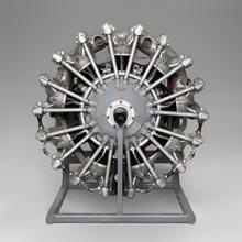 Pratt & Whitney R-985 Wasp Junior airplane radial engine 1930s