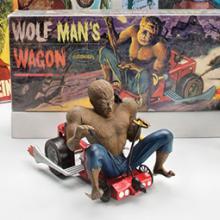 Wolf Man toys and memorabilia