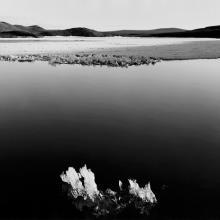 Floating Ice, Tangle Lakes, Alaska  1986