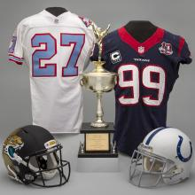 A selection of material representing the AFC South Division of the National Football League
