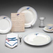 Pan American Airways meal service