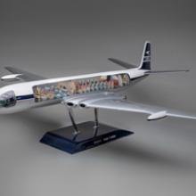 BOAC (British Overseas Airways Corporation) de Havilland D.H. 106 Comet 4model aircraft late 1950s