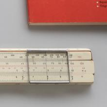 Lawrence 10-B Slide Rule with The Slide Rule and How to Use It book  1942/43 ; Rietz 23R slide rule  1940; Simplify Math: Learn to Use the Slide Rule  1966