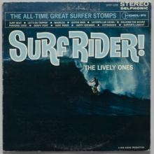 Come Surf With Me  1963; Surf Rider!  1963;  Surfer Girl  1964; Soul Surfer  1963