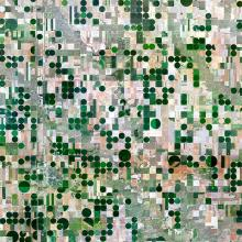 Irrigation Fields, Edson, Kansas  2015