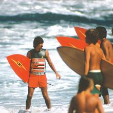 Gerry Lopez, Sunset Beach, Oahu, Hawaii  1974