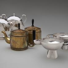 Sugar and creamer  c. 1933–38