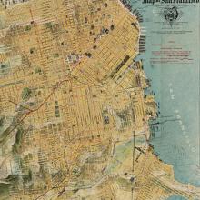 """The """"Chevalier"""" Commercial, Pictorial and Tourist Map of San Francisco  1915"""