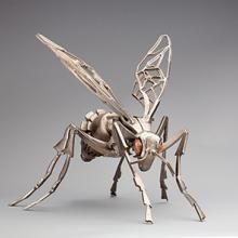 Wasp (Vespula vulgaris) sculpture  2008