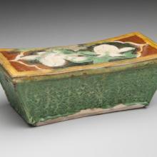 Ceramic pillow 12th–13th century