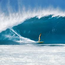 Rory Russell, Pipeline, Oahu, Hawaii  1973