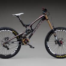 Santa Cruz V10/Syndicate race bike 2012