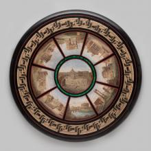 Micromosaic table top  c. 1865