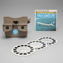 Pan American World Airways Boeing 747 View-Master and picture disks   1970s