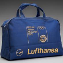 Lufthansa German Airlines Munich Olympics bag 1972